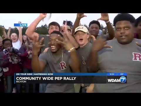 Ashley Jackson interviews with Richton High School Rebels