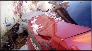 Кто ответит за падение с крыши снега или льда на автомобиль