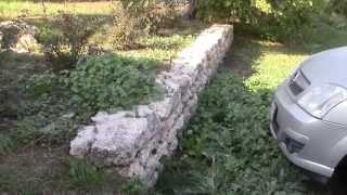 Подпорная стенка ,Полезные идеи для Дачи. Домик в деревне.