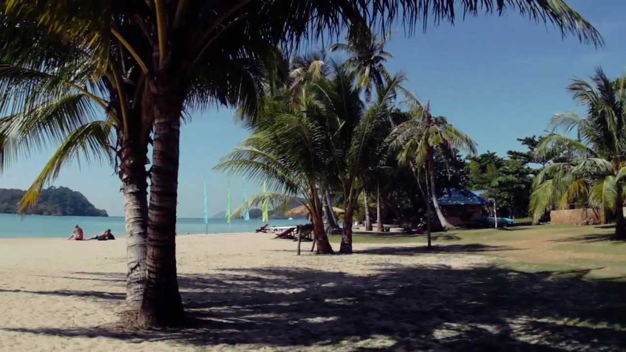 Holiday Beach Resort Ko Mak Thailand Youtube