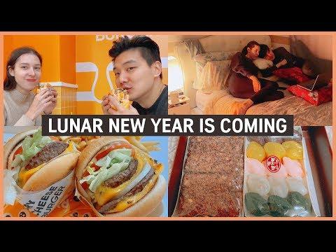 Korean Lunar New Year is Coming | VLOG [국제커플] 캐나다 아내와 설날 준비