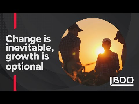Phrase that pays: Change is inevitable, growth is optional| BDO Canada