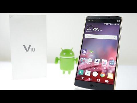LG V10 Premium Smartphone Unboxing Impressions & Overview