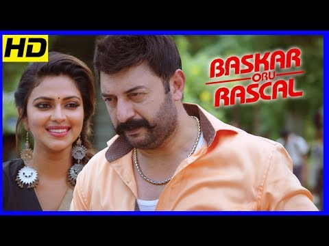 Bhaskar Oru Rascal Climax | Arvind Awamy...