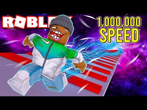 1,000,000 SPEED In Roblox Light Dash!! (I Beat The Game)