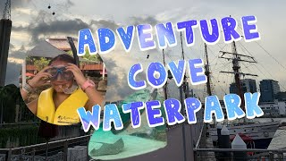 Adventure Cove Waterpark! (Singapore 2019)