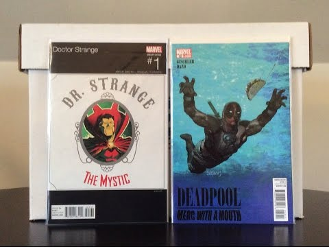Comic Book Haul #11 ( Ghost Rider, Dr. Strange, 1$ Binging for Copper )