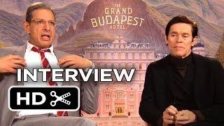 The Grand Budapest Hotel Interview - Jeff Goldblum, Willem Dafoe (2014) - Comedy Movie HD