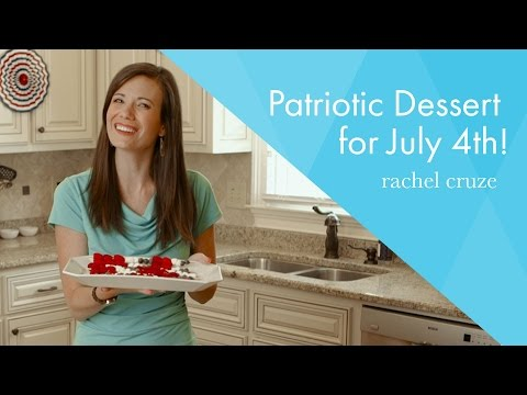 Patriotic Dessert For July 4th! - In Just 30 Seconds