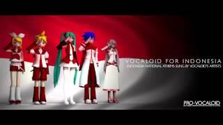 【Pro-Vocaloid feat. Miku, Rin, Luka, Kaito, Len】 Hymne Guru