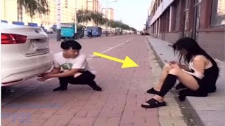 Chinese Comedy Videos - New Funny Pranks Compilation Try Not To Laugh P7