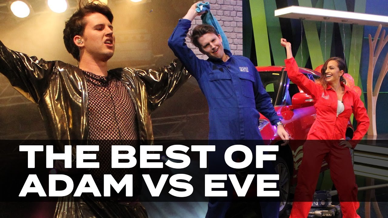 The Best of Adam vs Eve 2016! - We give you our top 5 Adam vs Eve challenges of 2016!