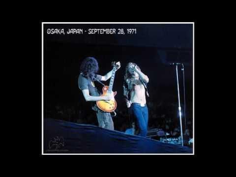 Led Zeppelin - Osaka - September 28, 1971 - Whole Lotta Love medley