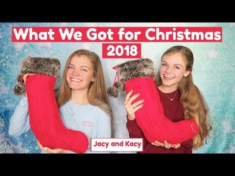 What We Got for Christmas 2018 ~ Jacy and Kacy