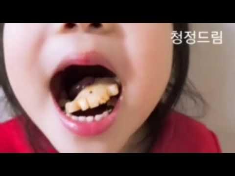 완도 자연그대로 청정드림 전복(어린이 먹방)ㅣEating child abaloneㅣアワビを食べる