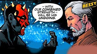 How Dooku Joined Forces with Maul During the Clone Wars - Explain Star Wars