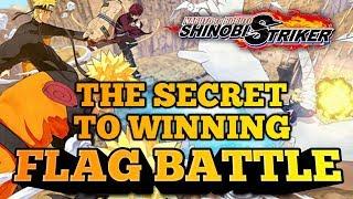 The SECRET To WINNING Flag Battle w/ AfroSenju KabukiSage Ndukauba! Naruto To Boruto Shinobi Striker