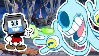 CUPHEAD vs PHANTOM EXPRESS Boss WIN! ► Fandroid the Musical Robot