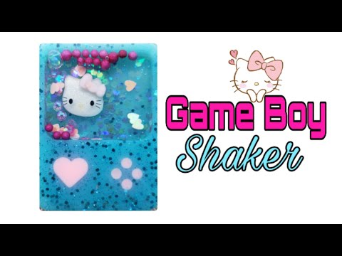 Watch me resin/Game Boy shaker