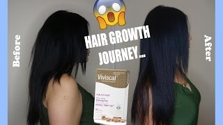 2 Month Viviscal Hair Growth Before & After
