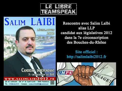 Dr. Salim Laïbi (alias LLP) sur le LTS