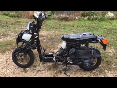 how to change a tire honda elite ch250