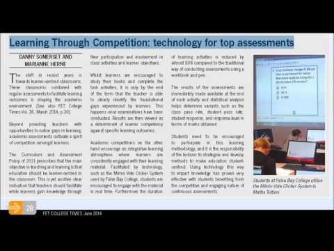 Interactive devices for top assessment