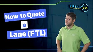 How to Quote a Lane- Fขll Truck Load