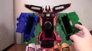 Kaizoku Sentai Gokaiger Gokaioh Review (Power Rangers Legendary Megazord)