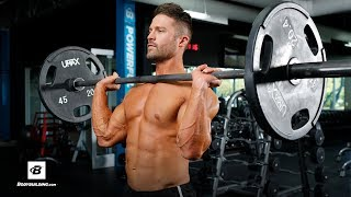 Upper Body Push Workout   Mike Hildebrandt