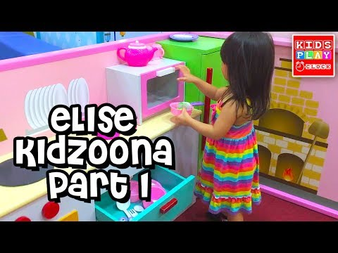 The Farmer in the Dell - Elise at Kidzoona Part1 | Nursery Rhymes | FAMILY FUN Kids Play O'Clock