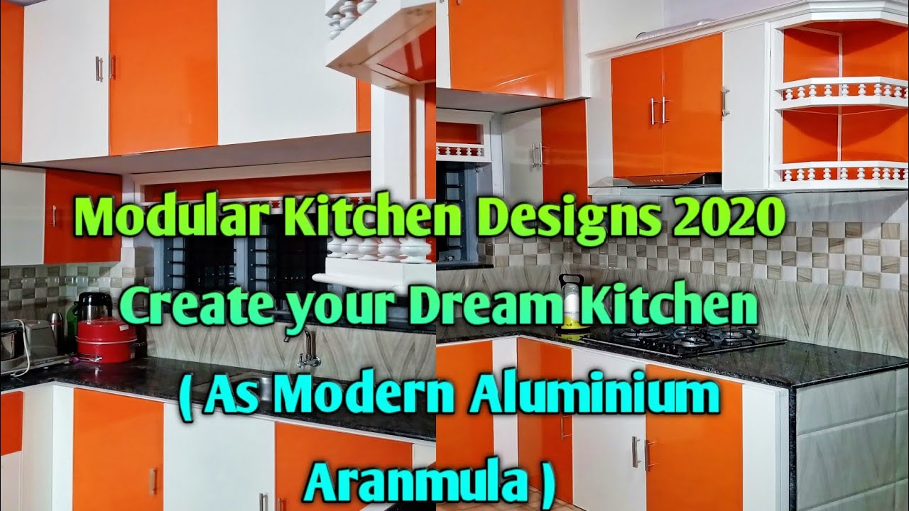 Modular Kitchen Designs 2020 #Aluminium Fabrication Work ...