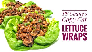 PF Chang's Copy Cat Lettuce Wraps