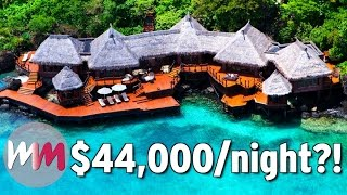 Top 10 Hotels - Top 10 Most EXPENSIVE Hotel Rooms in the World