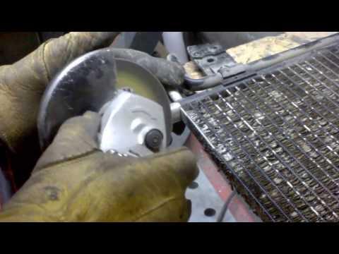 Ремонт радиатора кондиционера своими руками видео