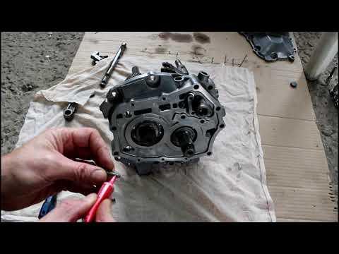 Стук в коробке замена подшипников в МКПП  3часть  Chevrolet Lanos Шевроле Ланос 2008 года
