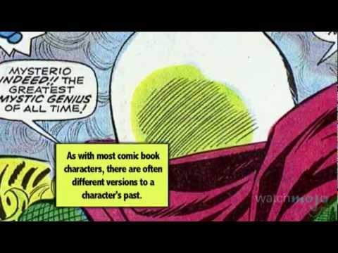 Supervillain Origins: Mysterio