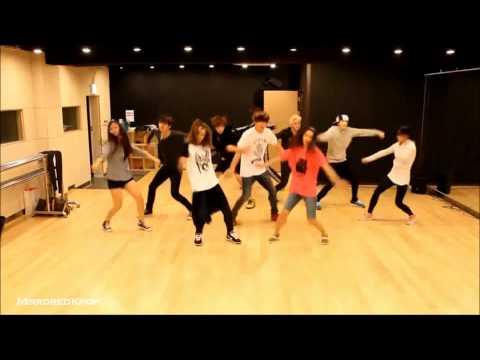 [HD] U-Kiss - Stop Girl Mirrored Dance Practice