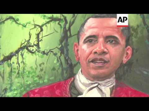 Obama trumps Trump in portrait popularity