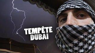 J'ai été témoin d'une tempête d'orage à Dubaï.. Aujourd'hui une vid...