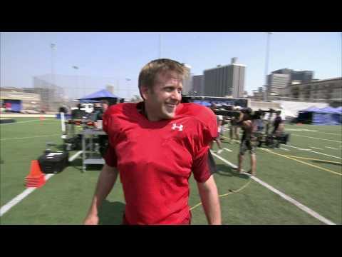 Sports Science:  NFL Defensive Tackle Kris Jenkins Vs. Average Joe