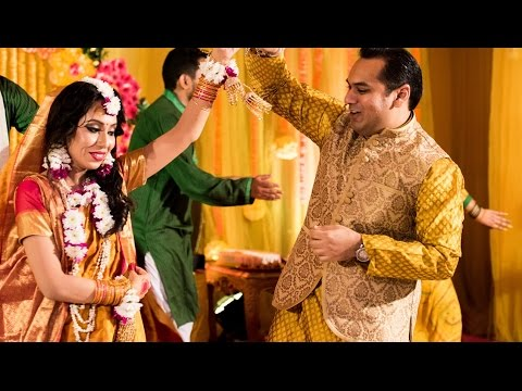 Avik and Tora Gaye Holud  Dance Performance