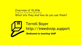 This video is a high-level overview of VLANs and how you would want...