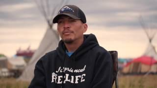 Hupa/Yurok/Karuk Medicine Fire at Standing Rock
