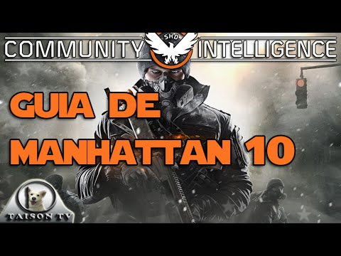 Tom Clancy's The Division Paseando por Manhattan #10 ULTRA HD Walkthrough en castellano
