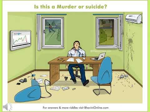 Mysteri Detective Riddle: Is This a Murder or a Suicide?
