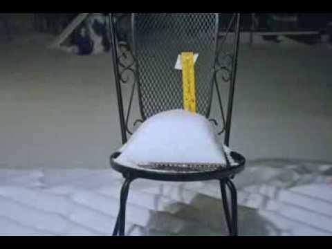 Snow Time-lapse in Hampton, Va.