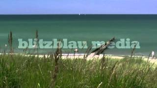 Stock Footage Europe Germany Baltic Sea Beach Ahrenshoop Mecklenburg Darß Ostsee Strand Travel