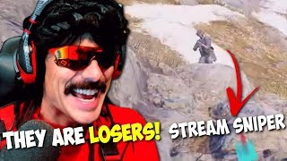 DrDisrespect RAGEs at Stream Snipers in BF5 Firestorm | Best Doc Moments (4/9/2019)
