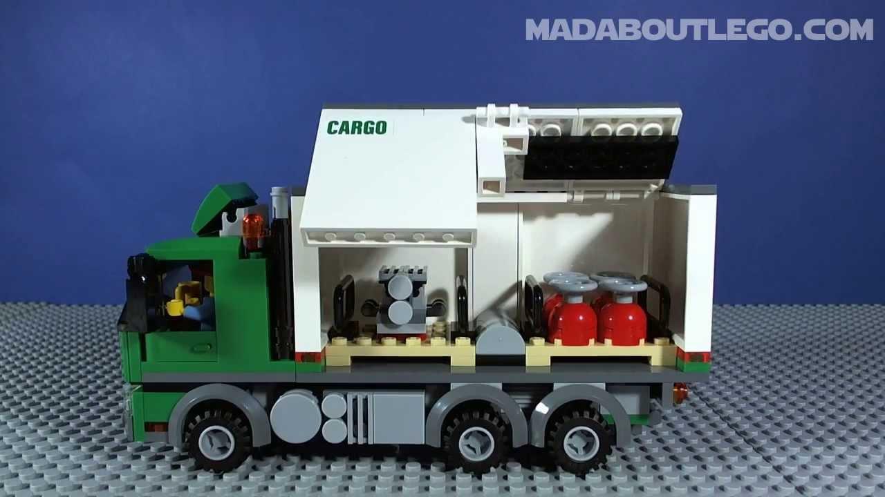 lego cargo lorry 60020 youtube
